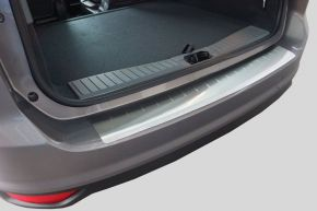 Copri paraurti in acciaio inox per Peugeot 407  SW  Combi, ANNI 2004-2010