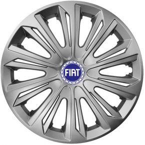 """COPRICERCHI PER FIAT 14"""", STRONG GRIGIO 4 pz"""