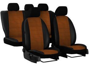 Copri sedili su misura In pelle con stampa AUDI A3 (8L) (1996-2003)
