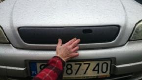 Mascherina invernale copri radiatore per ASTRA II G/CLASSIC