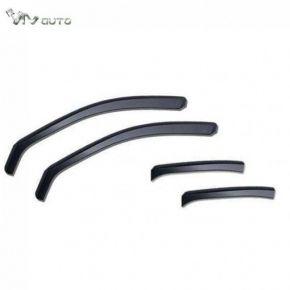 Deflettori per TOYOTA LAND CRUISER V8, D + S 2008-, anteriori e posteriori, 4 pz, 5-porte