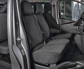 Housse de siège de voiture sur mesure Tailor Made DV2 pre OPEL VIVARO B (2014-2019)
