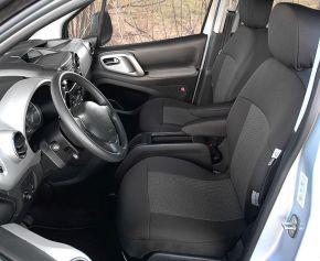 Housse de siège de voiture sur mesure Tailor Made 1+1 pre CITROEN BERLINGO II Multispace (2008-2018)