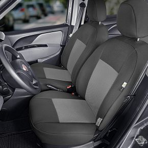 Housse de siège de voiture sur mesure Tailor Made 1+1 pre FIAT DOBLO IV (2015→)