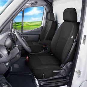 Housse de siège de voiture sur mesure Tailor Made 1+1 pre MERCEDES SPRINTER W907 (2018→)