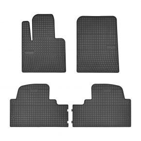Tappeti in gomma auto per HYUNDAI SANTA FE III 4 pz 2015-up