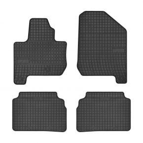 Tappeti in gomma auto per KIA SOUL II EV ELECTRIC 4 pz 2014-up