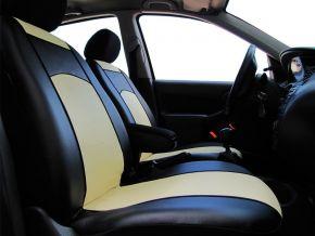 Copri sedili su misura In pelle AUDI A4 B6 (2000-2006)