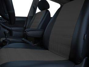 Copri sedili su misura In pelle con stampa FIAT 500
