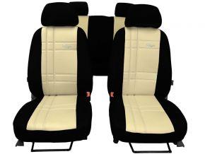 Copri sedili su misura In pelle Stype FIAT 500L