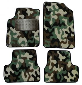 Army car mats Citroen C3 II  2009-2016  4ks