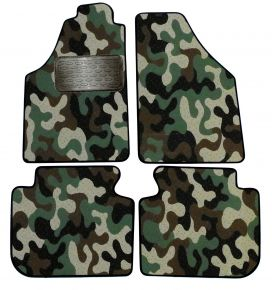 Army car mats Fiat Idea 2005-up 4ks