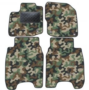 Army car mats Honda Civic 2012-2016 4ks