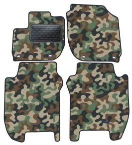 Army car mats Honda Jazz 2015-up 4ks
