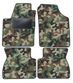 Army car mats Kia Picanto I  2007-2011  4ks