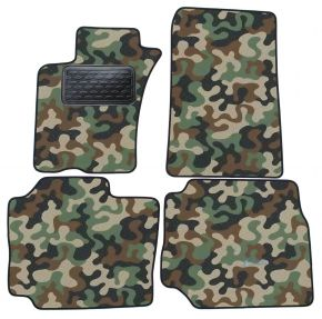 Army car mats Mercedes ML  W163 1998-2005 4ks