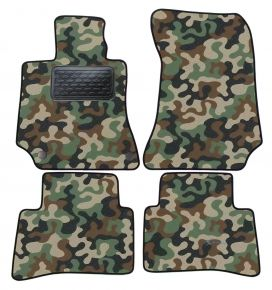 Army car mats Mercedes E Class W212  2009-2016 4ks