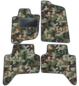 Army car mats Mitsubishi L200  2006-2016