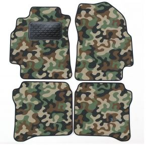 Army car mats Nissan Primera P12 2000-2008 4ks
