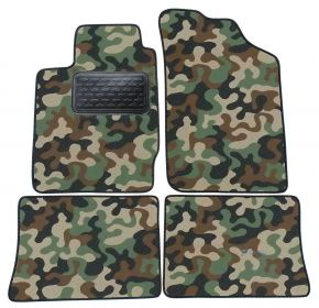 Army car mats Renault Thalia 2001-2008 4ks