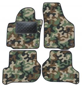 Army car mats Skoda Yeti / Golf 5 Plus