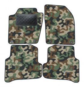 Army car mats Skoda Fabia III 2014 -up  4ks