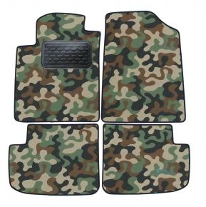 Army car mats Toyota Yaris 5D 1998-2005 4ks