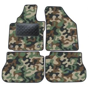 Army car mats Volkswagen Caddy 2003-up  4ks