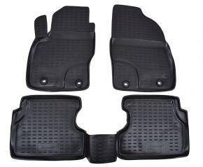 Tappeti in gomma FORD Focus II 2004-2010 4 pz