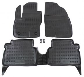 Tappeti in gomma FORD FORD Kuga  2008-2012 4 pz