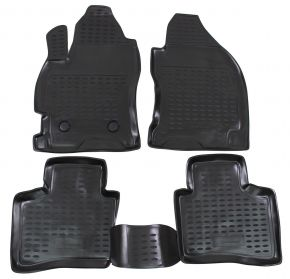 Tappeti in gomma FORD FORD Mondeo  2000-2007  4 pz