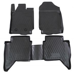 Tappeti in gomma FORD FORD Ranger  4 doors  2012-up 4 pz