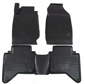 Tappeti in gomma ISUZU D-MAX  2012-up   4 pz