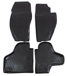 Tappeti in gomma JEEP Cherokee  2008-2013 4 pz