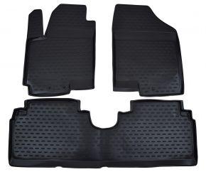 Tappeti in gomma KIA Venga /Hyundai ix20  2010-up 3 pz