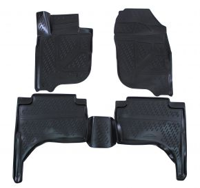 Tappeti in gomma MITSUBISHI L200  2015-up  4 pz