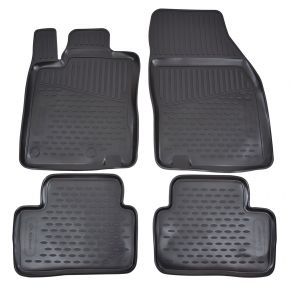 Tappeti in gomma RENAULT Megane III 2010-2015  4 pz