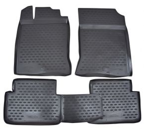 Tappeti in gomma RENAULT Scenic III 06/2010-up  3 pz