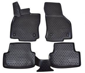 Tappeti in gomma SEAT Leon  2012-up  4 pz