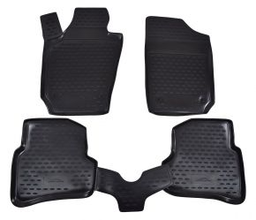 Tappeti in gomma SEAT Ibiza 2008-up 4 pz