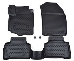 Tappeti in gomma SUZUKI Vitara  2015-up  cross  4 pz