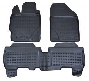 Tappeti in gomma TOYOTA Yaris 2005-2011  3pz