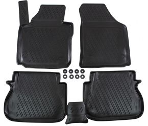 Tappeti in gomma VW Caddy  2015-up  4 pz