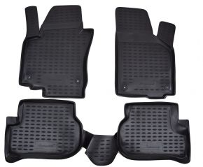 Tappeti in gomma VW Golf Plus 2004-2014  4 pz