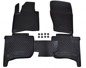 Tappeti in gomma VW Touareg 2010-up  4 pz