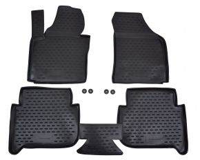 Tappeti in gomma VW Touran 2006-2014  4 pz