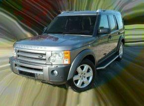 Pedane laterali per Land Rover Discovery 3/4 OE Style, ANNI 2005-2016