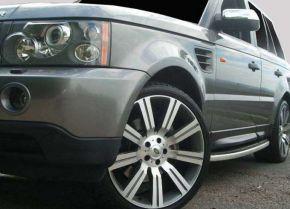 Pedane laterali per Land Rover Range Rover Sport OE Style, ANNI 2006-2012