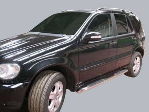 Telai laterali in acciaio inox per Mercedes ML-Class W163 1998-2005 5D.