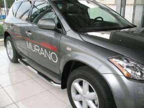 Telai laterali in acciaio inox per Nissan Murano, ANNI 2003-2008